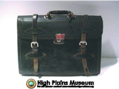 High Plains Museum | LH028 Leather briefcase
