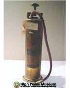 High Plains Museum | MC493 Antique fire extinguisher