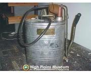 High Plains Museum | P187 Back pack fire pump