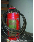High Plains Museum | P186 Red pump extinguisher