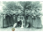 High Plains Museum | PM157ENTERT Early ladies band in 1908.