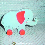 High Plains Museum | T003 Elephant Pull Toy